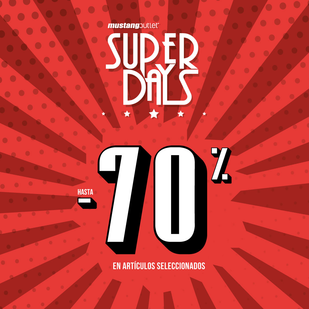 Promoción Super Days Mustang