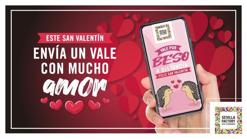 Envía un Vale con mucho amor - Sevilla Factory