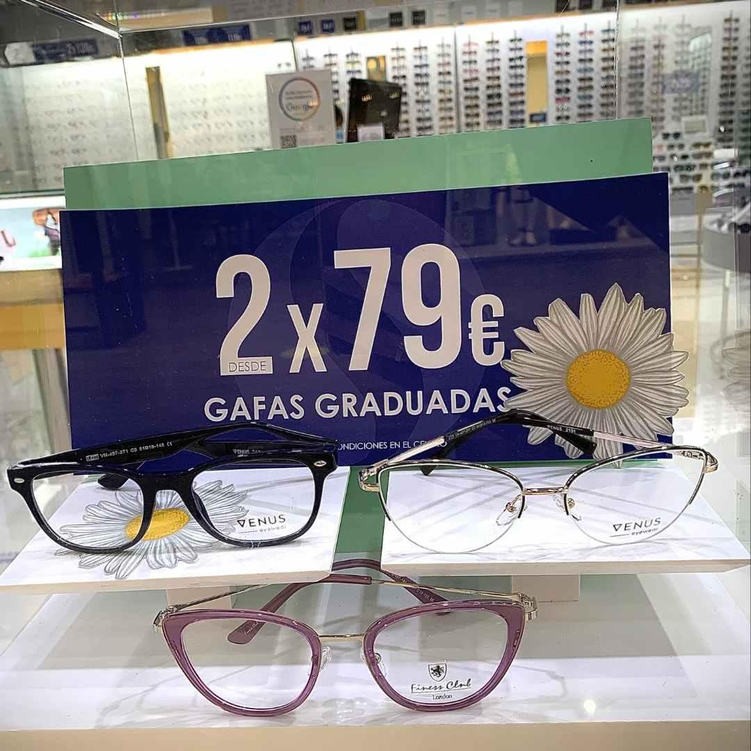 promocion 2x79€ en gafas graduadas sevilla factory dos hermanas