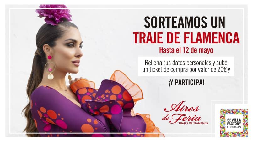 sorteo traje de flamenca